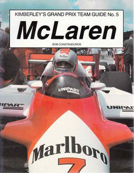 McLaren (Kimberley's Grand Prix Team Guide No. 5) ( 0946132046) - front
