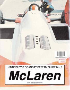 McLaren (Kimberley's Grand Prix Team Guide No. 5) ( 0946132046) - back