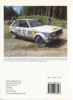 Talbot Sunbeam-Lotus MRP Rally Libraray 3 Back