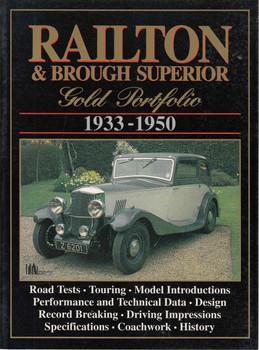 Railton & Brough Superior Gold Portfolio 1933 - 1940 (9781855203136)  - front