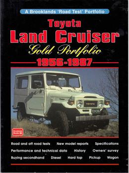 Toyota Land Cruiser Gold Portfolio 1956 - 1987 (9781855203983) - front