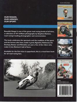 Beautiful Danger: 101 Great Road Racing Photographs (Paperback Edition) (9780856409622) - back