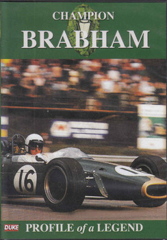 Champion Brabham: Profile of a Legend DVD (5017559126575) - front