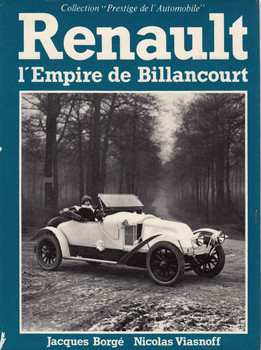 Renault, l'empire de Billancourt (Collection Prestige de l'automobile) (French Edition) (9782851200594) - front