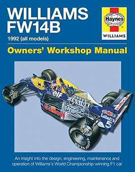Williams FW14B 1992 (all models) Owners' Workshop Manual