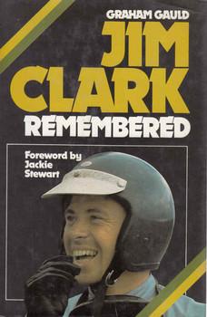 Jim Clark Remembered (Graham Gauld) (9780850591903) - front
