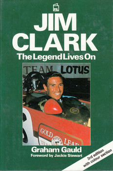 Jim Clark: The Legend Lives On (3rd Edition with colour section) (9781852601447) - front