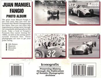 Juan Manuel Fangio Photo Album (9781583880081) - back