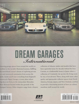 Dream Garages International: Great Garages And Collections From Around The World (9780760340752) - back