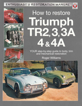 How To Restore Triumph TR2,3,3A 4 & 4A: Enthusiast's Restoration Manual (9781845849474) - front
