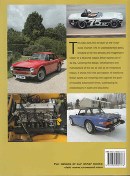 Triumph TR6 The Complete Story (9781785001376) - back
