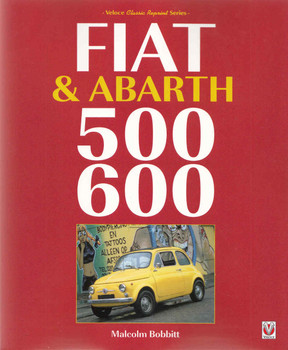 Fiat & Abarth 500 600 (Veloce Classic Reprint Series) (9781845849986) front