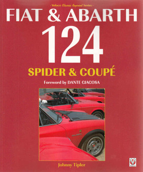 Fiat & Abarth 124 Spider & Coupe (Veloce Classic Reprint) (9781845849979) front