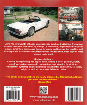 How To Improve Triumph TR5 250 & 6 SpeedPro Series (Veloce Classic Reprint Series) (9781845850135) (back)