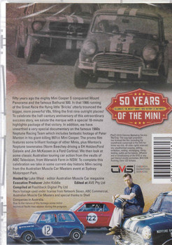 50 Years Of The Mini: Celebrate The Mighty Mini's 1966 Victory At Bathurst DVD (9340601001817) - back
