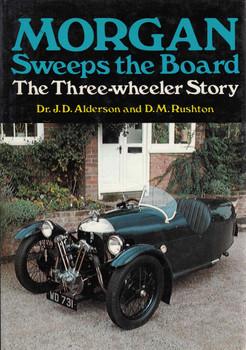 Morgan Sweeps The Board The Three-Wheeler Story (9780856140501)