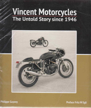 Vincent Motorcycles: The Untold Story Since 1946 (9781845849023) - front