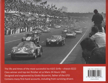 Iso Bizzarini: The Remarkable History Of A3/c 0222 , Exceptional Car Series 1 (9781907085543 - back