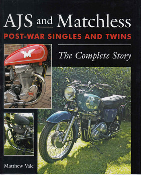 AJS And Matchless Post-War Singles And Twins: The Complete Story (9781785001956)  - front