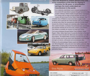 The Reliant Motor Company (9781908347367) - back