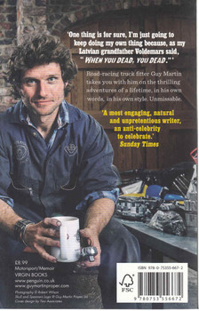 Guy Martin: When You Dead, You Dead (Paperback Edition) (9780753556672)  - back