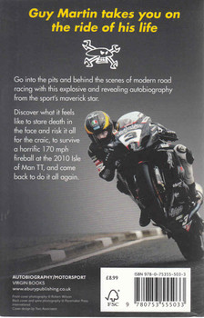 Guy Martin: My Autobiography (Paperback Edition) (9780753555033)  - back
