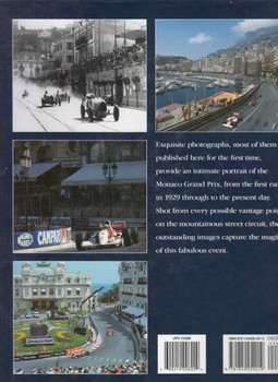 Monaco Grand Prix: A Photographic Portrait Of the World's Most Prestigious Motor Race (9781844254019) - back