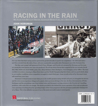 Racing In The Rain: My Years With Brilliant Drivers, Legendary Sports Cars And A Dedicated Team (9781893618718) - back