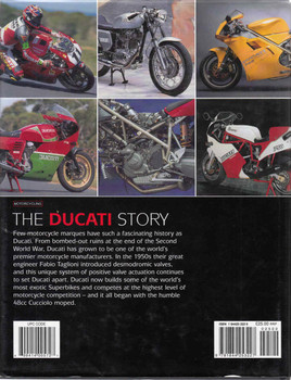 The Ducati Story (Fourth Edition) (9781844253227) - back