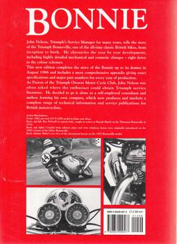 Bonnie: The Development History Of The Triumph Bonneville (2nd Edition) (9780854299577) - back