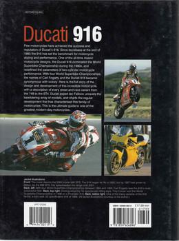 Ducati 916 (Haynes Great Bikes) (9781859606896)  - back