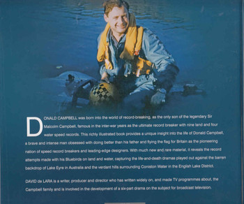 Donald Campbell 330+ A Speed Odyssey: His Life With Bluebird (9780750970082) - back
