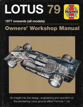 Lotus 79 1977 onwards (all models) Owners' Workshop Manual (9781785210792)