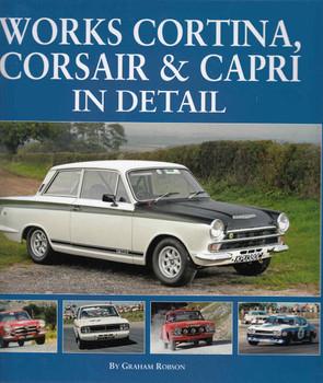 Works Cortina, Corsair & Capri In Detail ( 9781906133719)