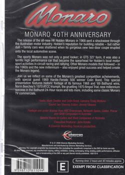 Monaro: 40th Anniversary DVD (9398710811094) - back