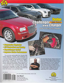 Dodge Challenger and Charger 2006 - Present: How To Build And Modify (9781613252154) - back
