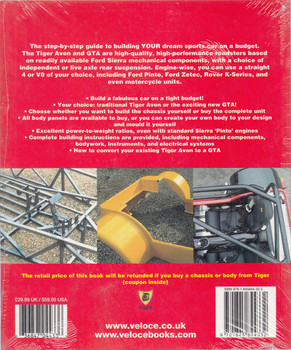 How To Build Tiger Avon Or GTA Sports Cars For Road Or Track - Updated & Revised New Edition (9781845844332)