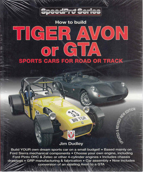 How To Build Tiger Avon Or GTA Sports Cars For Road Or Track - Updated & Revised New Edition (9781845844332) - front