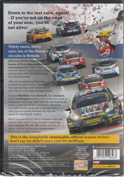 BTCC: The 2016 The Dunlop MSA British Touring Car Championship DVD