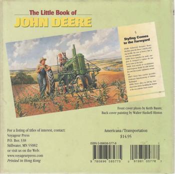 The Little Book Of John Deere (9780896585775) - back