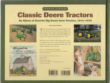 Classic Deere Tractors: An Album Of favorite Big Green Farm Tractors, 1914 - 1970 (9780896586208) - back