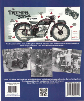 Edward Turner: The Man Behind The Motorcycles - Veloce Classic Reprint Series - back