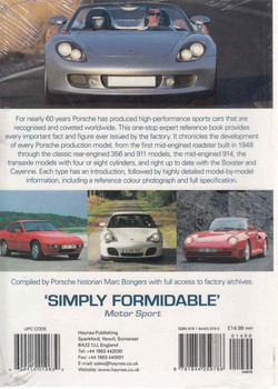 Porsche Data Book: The Definitive Reference To Specifications and Statistic