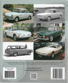 Volkswagen Type 3: Concept, Design, International Production Models & Development (9781845849528)