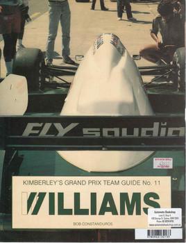 Williams: Kimberley's Grand Prix Team Guide No. 11