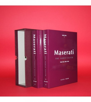 Maserati The Family Silver (2 Volumes in Slipcase)