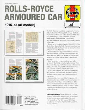 Rolls-Royce Armoured Car 1915-44 (all models) Owner's Workshop Manual (9781785210587)