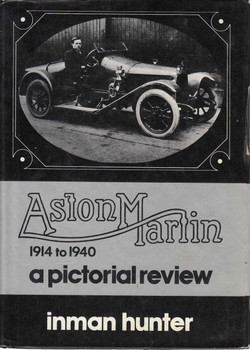 Aston Martin 1914 to 1940: A Pictorial Review (9780851840208)