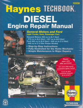 Haynes Diesel Engine Repair Manual (Techbook Series) (9781563921889)