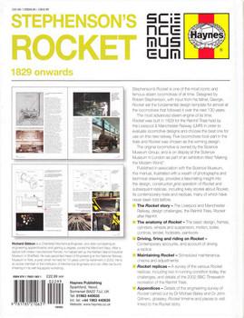 - Stephenson's Rocket 1829 onwards Owners' Workshop Manual (9781785210631)